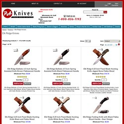 Wholesale Elk Ridge Knives