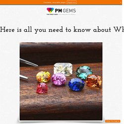How to find Perfect Fine Gems Canada