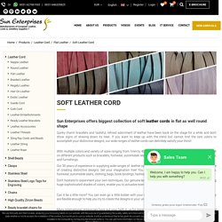 Soft Leather Cord