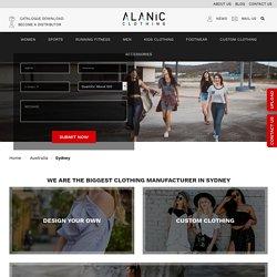 Sydney Wholesale Boutique Clothing Manufacturers