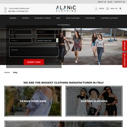 Italian Wholesale Clothes : Best Clothing Manufacturers in Italy