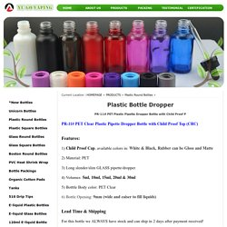 Buy Wholesale Plastic Bottle Dropper Online