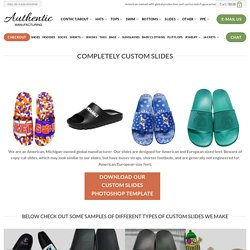 Wholesale Custom Slides - Get UV Printed Professional-Grade Slide Sandals