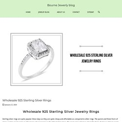 Wholesale 925 Sterling Silver Rings - Bourne Jewerly blog