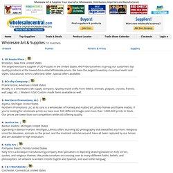 Wholesale Art & Supplies Directory