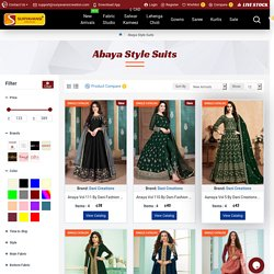 Buy Abaya Style Salwar Kameez and Suits Online USA and UK Wholesale price