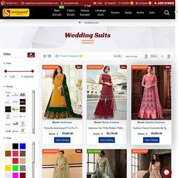 Buy stylish Wedding Salwar Suits Online India, USA, UK, Canada at Wholesale Price from surat, gujarat, india