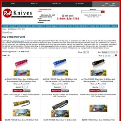 Buy Cheap Stun Guns Teasers Wholesaler Importer Distributor