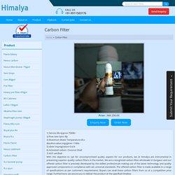 Carbon Filter Wholesaler in Gurgaon - Himalya