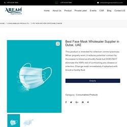Best Face Mask Wholesaler Supplier in Dubai, UAE