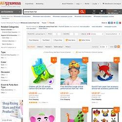 Wholesale Animal Foam Hat-Buy Animal Foam Hat lots from China Animal Foam Hat wholesalers on Aliexpress