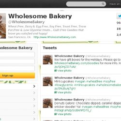 Wholesome Bakery (WholesomeBakery) on Twitter