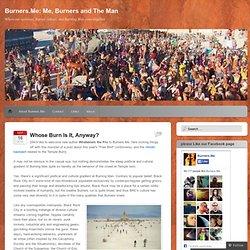 Burners.Me Burning Man commentary blog