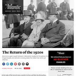 Why the 2010s Are Reminiscent of the 1920s