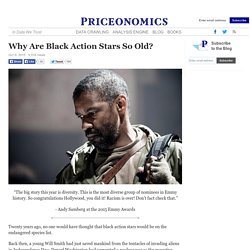 Why Are Black Action Stars So Old?