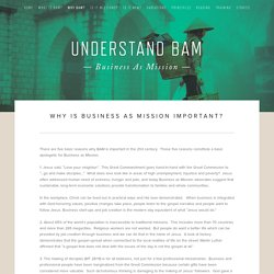 Why BAM? — Understand BAM