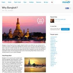 Why Bangkok?