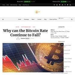 Why can the Bitcoin Rate Continue to Fall?