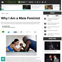 Why I Am a Black Male Feminist