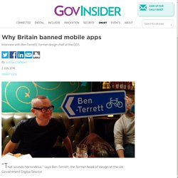 Why Britain banned mobile apps