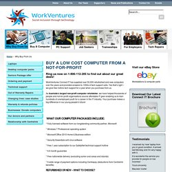Why Buy From Us - WorkVentures