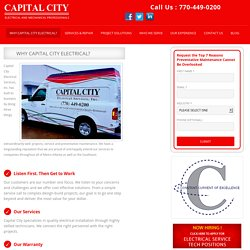 Why Capital City Electrical?