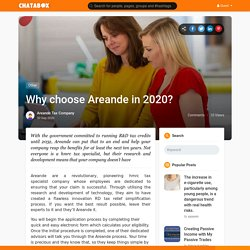 Why choose Areande in 2020?