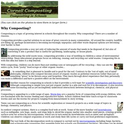 Why Composting? - Cornell Composting