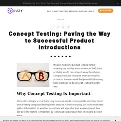 Why is Concept Testing Important?