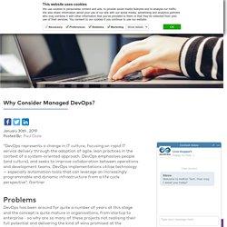 Why Consider Managed DevOps?