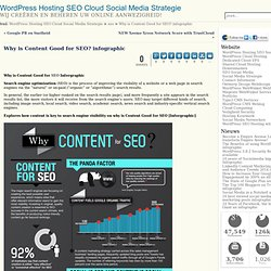 Why is Content Good for SEO [Inforgraphic]