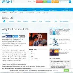 Why Did Lucifer Fall?
