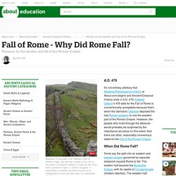 Why Did Rome Fall?