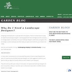 Why Do I Need a Landscape Designer?
