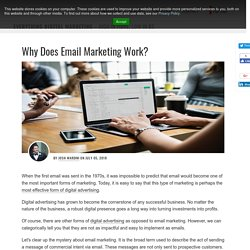 Why Does Email Marketing Work?