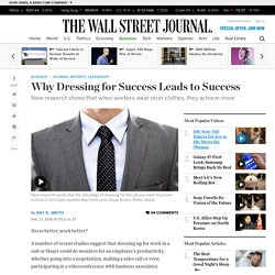 Why Dressing for Success Leads to Success