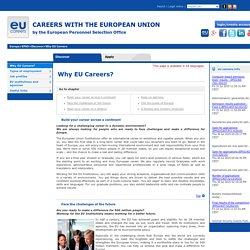 Why EU Careers?