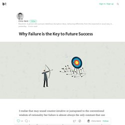 Why Failure is the Key to Future Success
