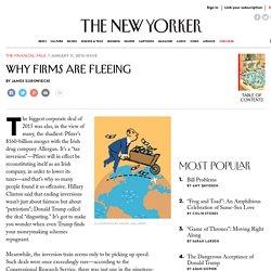 Pfizer and America's Corporate Exodus