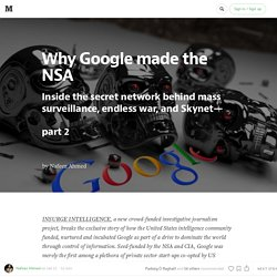 Why Google made the NSA