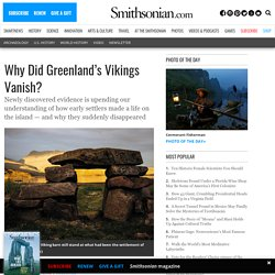 Why Did Greenland's Vikings Vanish?