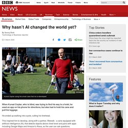 Why hasn't AI changed the world yet?