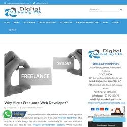 Why Hire a Freelance Web Developer?