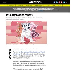 Why humans love robots
