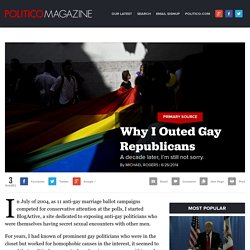 Why I Outed Gay Republicans