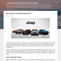 Why Jeep SUVs are Ruling in Bay City, TX?