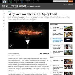 Why We Love the Pain of Spicy Food