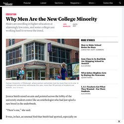 Why Men Are the New Minority in College - The Atlantic