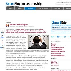 SmartBlog on Workforce » Blog Archive » Why we'll miss ambiguity