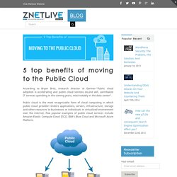 Why move to the Public Cloud?